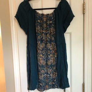 O'Neill off the shoulder dress, size L, EUC